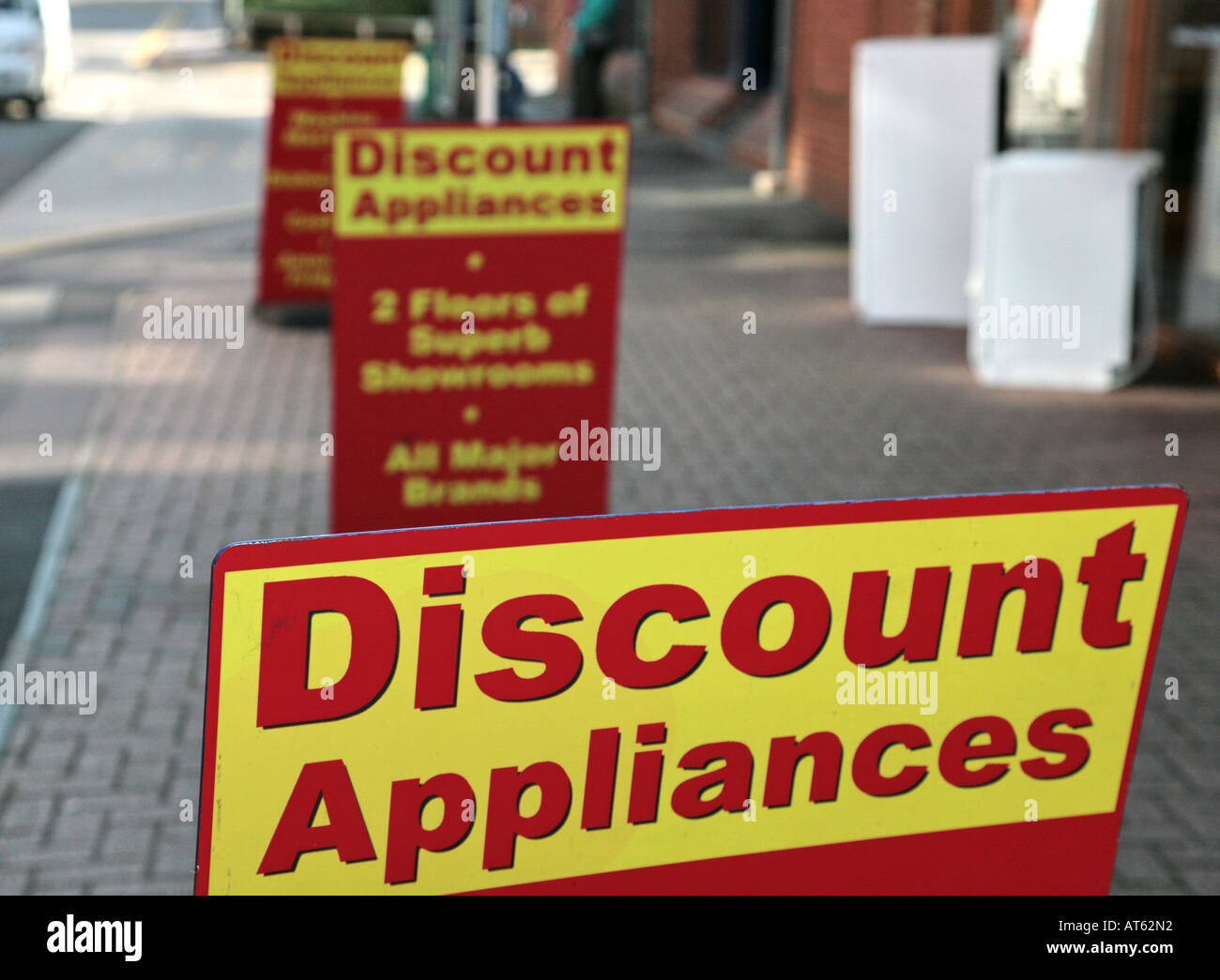 Appliances Discount Discount Appliances Signs Stock Photo Royalty Free Image 9265105