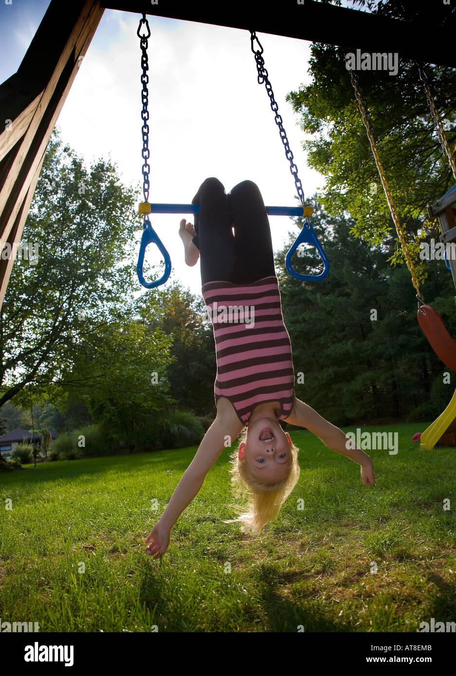 swinging upside down stock photos u0026 swinging upside down stock