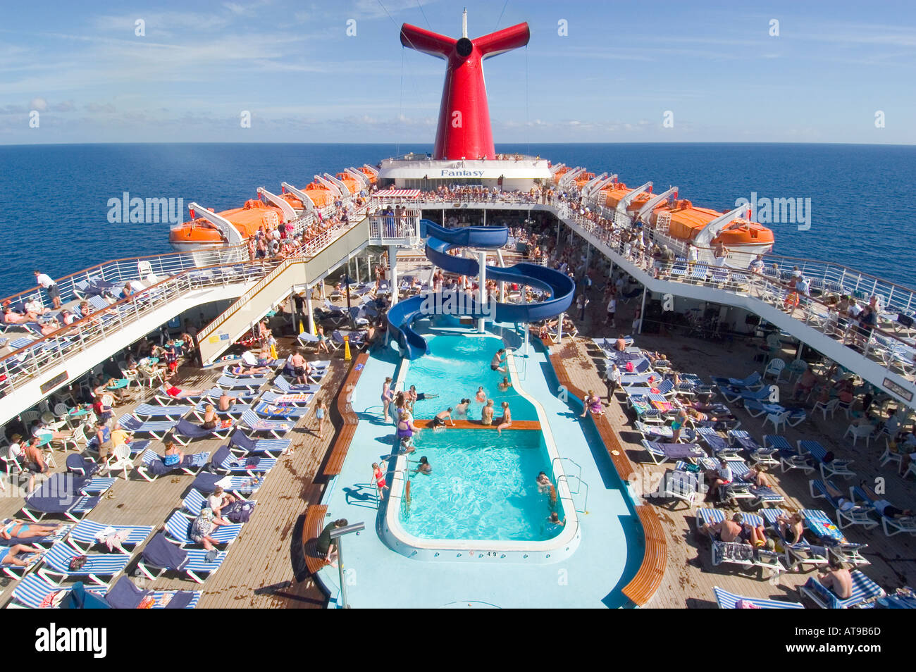 Family Activities Aboard The Carnival Cruise Ship Fantasy From Port Stock Photo 1678188 Alamy