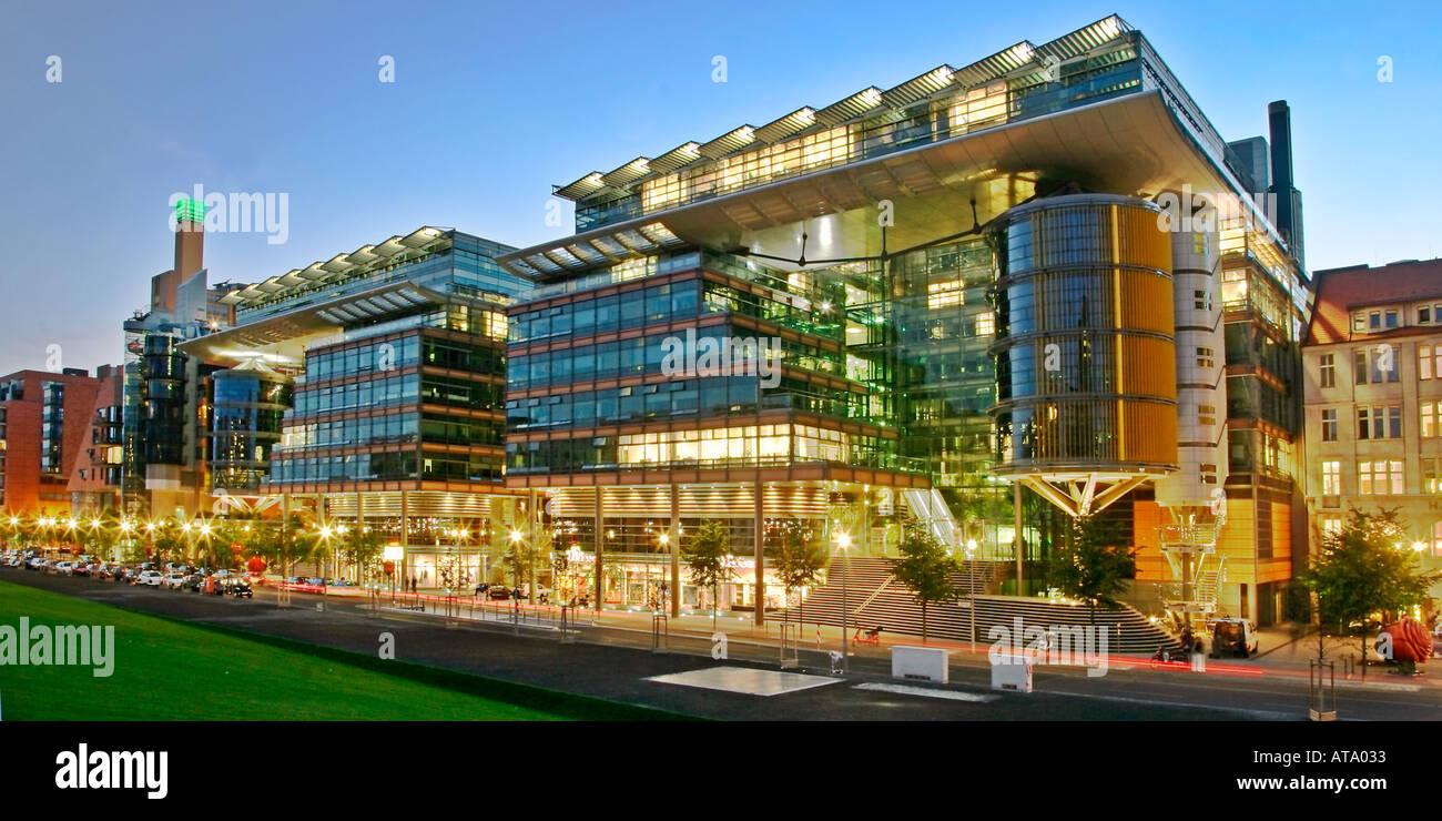 Modern Architecture Berlin berlin potsdamer platz daimler chrysler modern architecture stock
