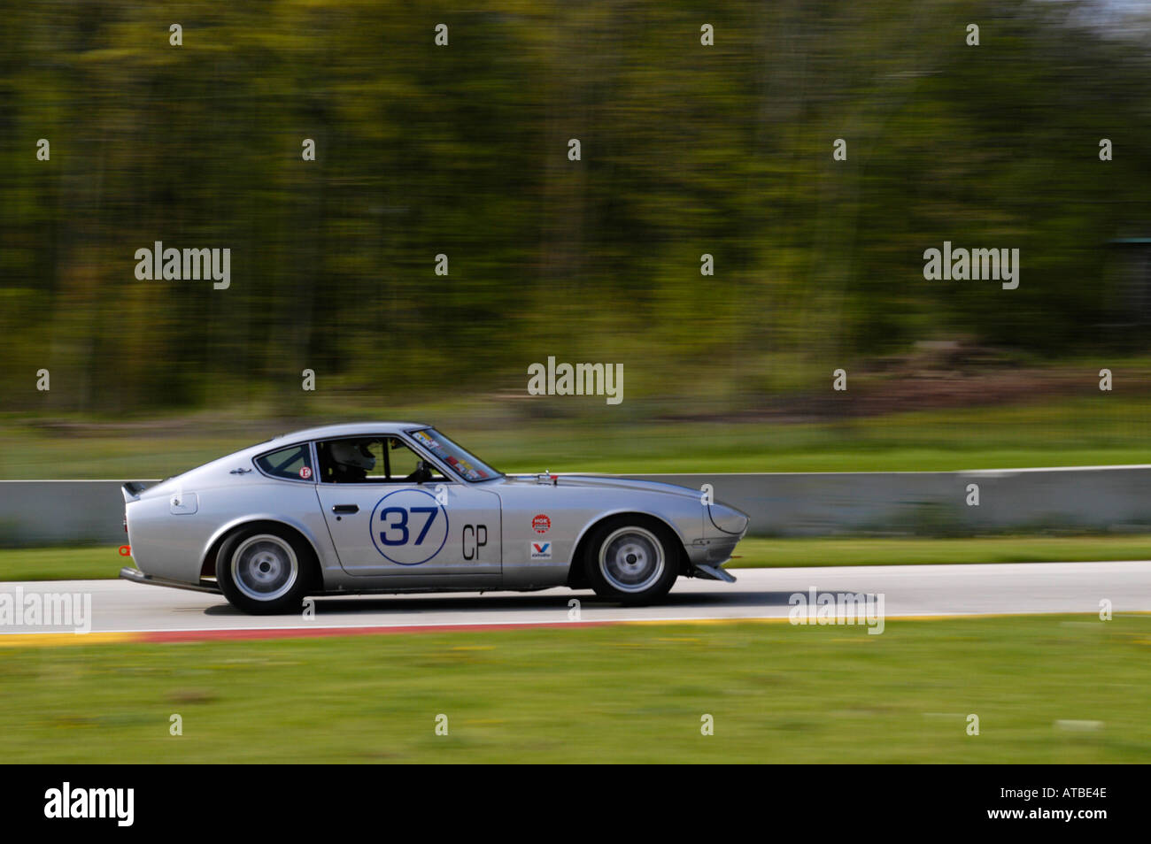 Fred seitz races his 1970 datsun 240z at the svra vintage gt stock fred seitz races his 1970 datsun 240z at the svra vintage gt challenge at road america 2004 vanachro Gallery