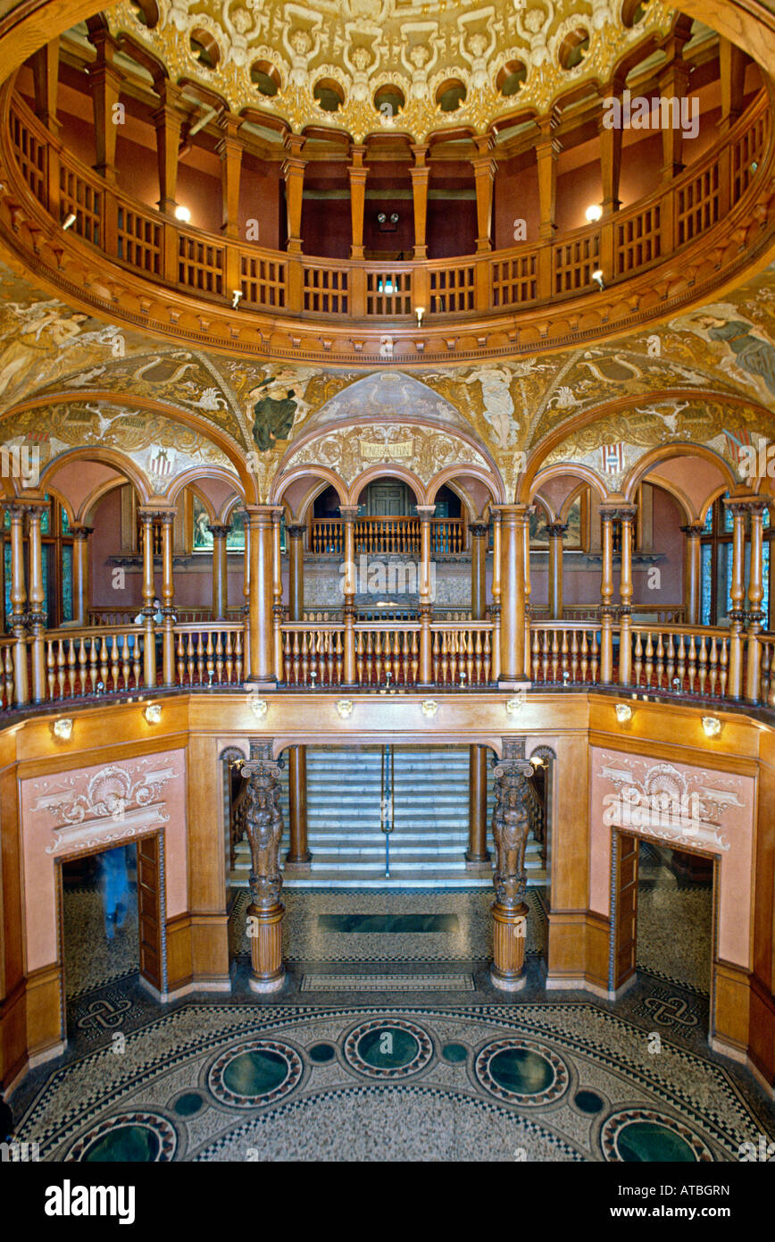 Interior Rotunda At Flagler College Formerly The Hotel