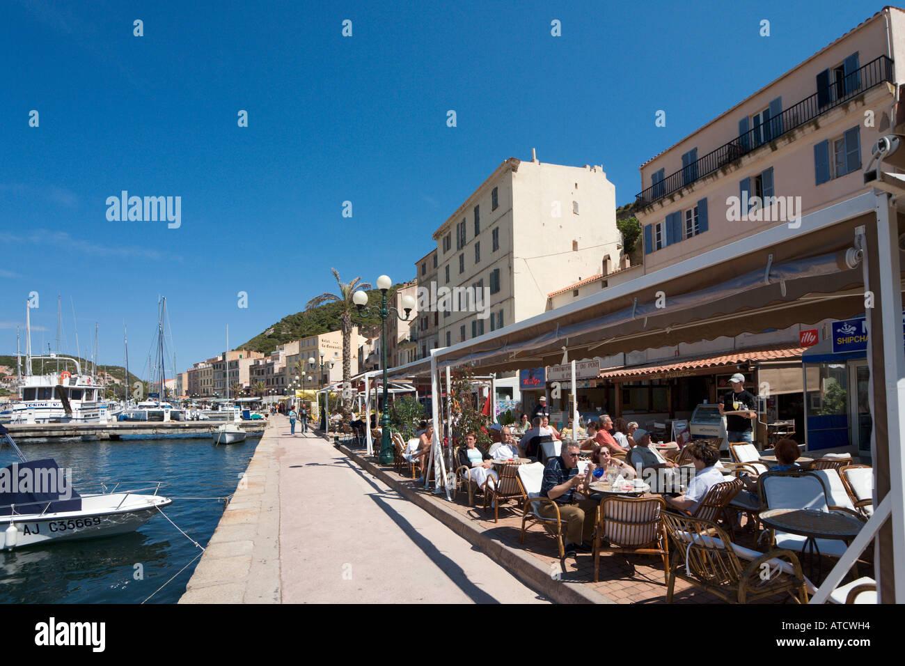 Harbour and harbourfront restaurants bonifacio corsica for Restaurant bonifacio port