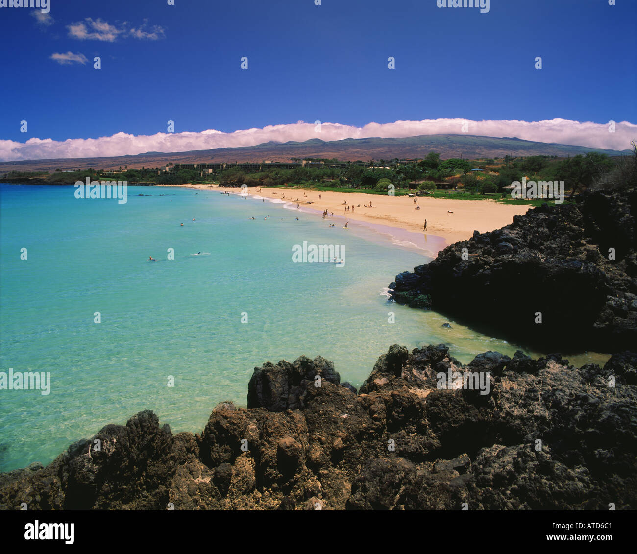 Big Island Beaches: Hapuna Beach State Park Kona Coast On The Big Island
