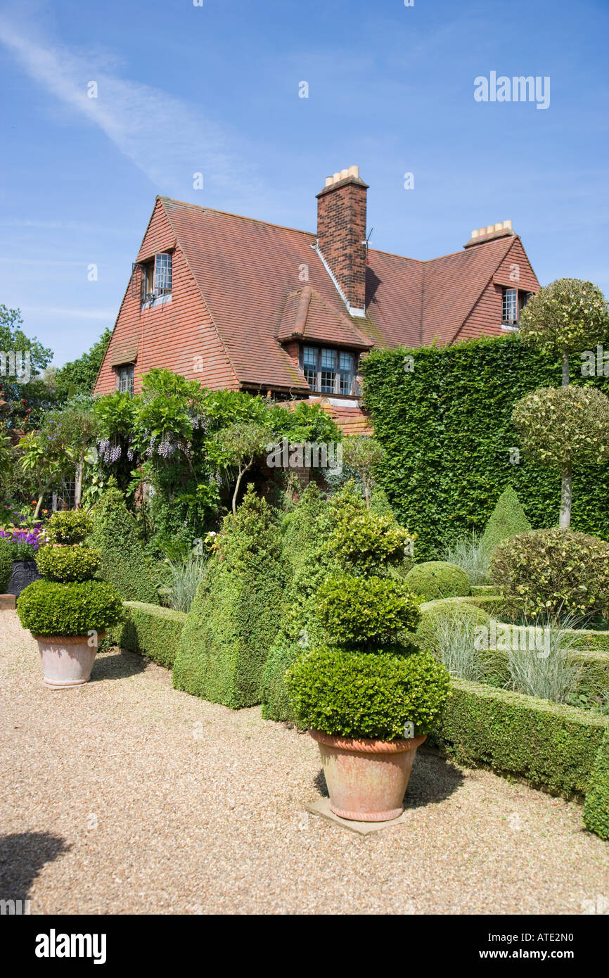 English Arts And Crafts Country House With Garden UK Norfolk