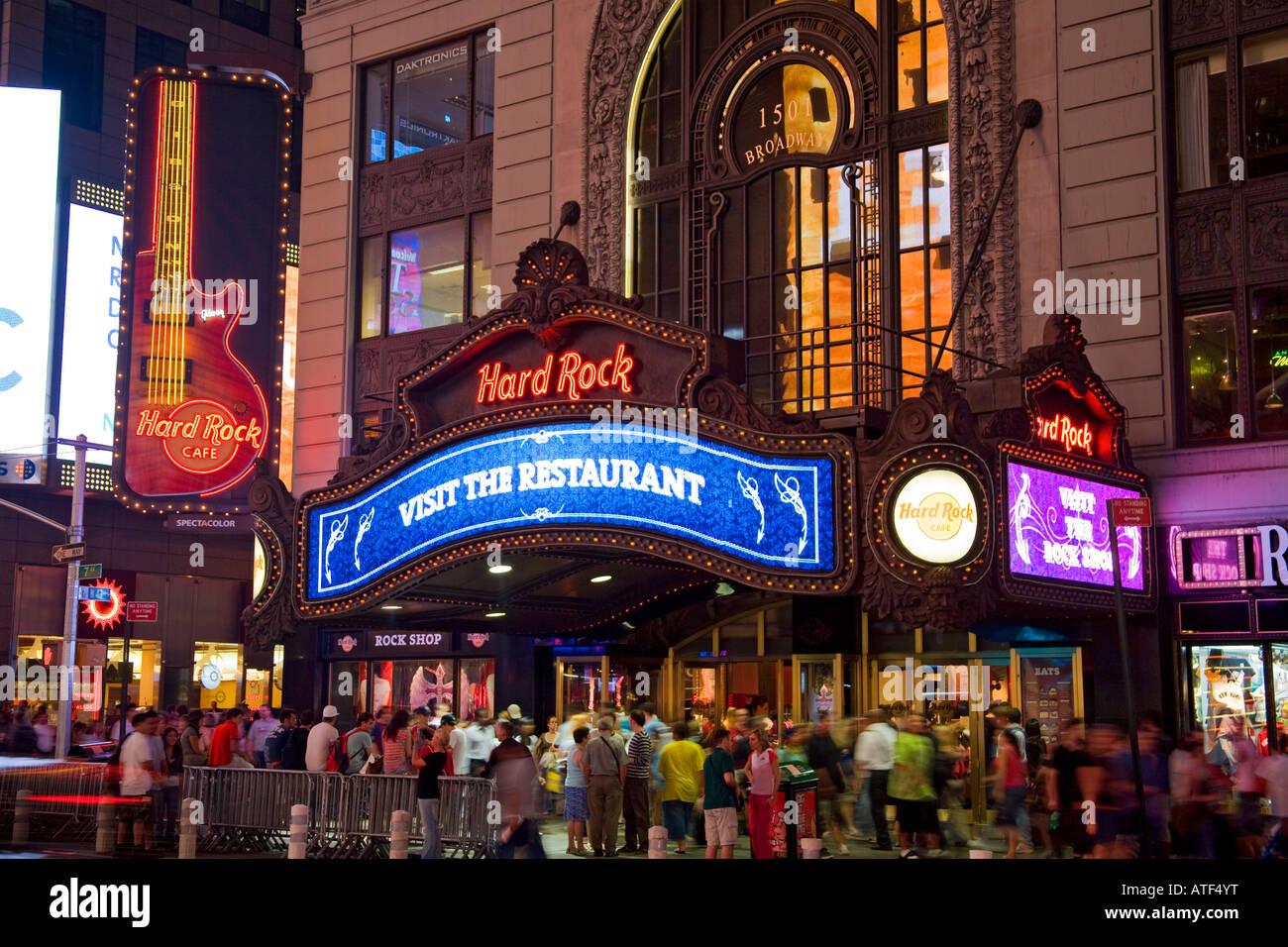 Hard Rock Cafe New York Ny Usa