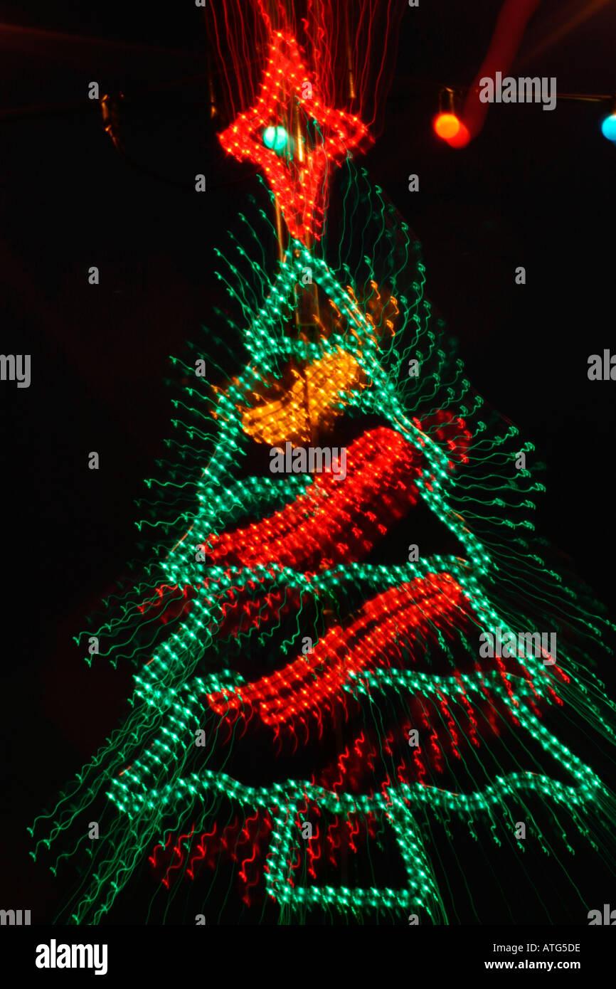 Christmas Tree Shaped Lights