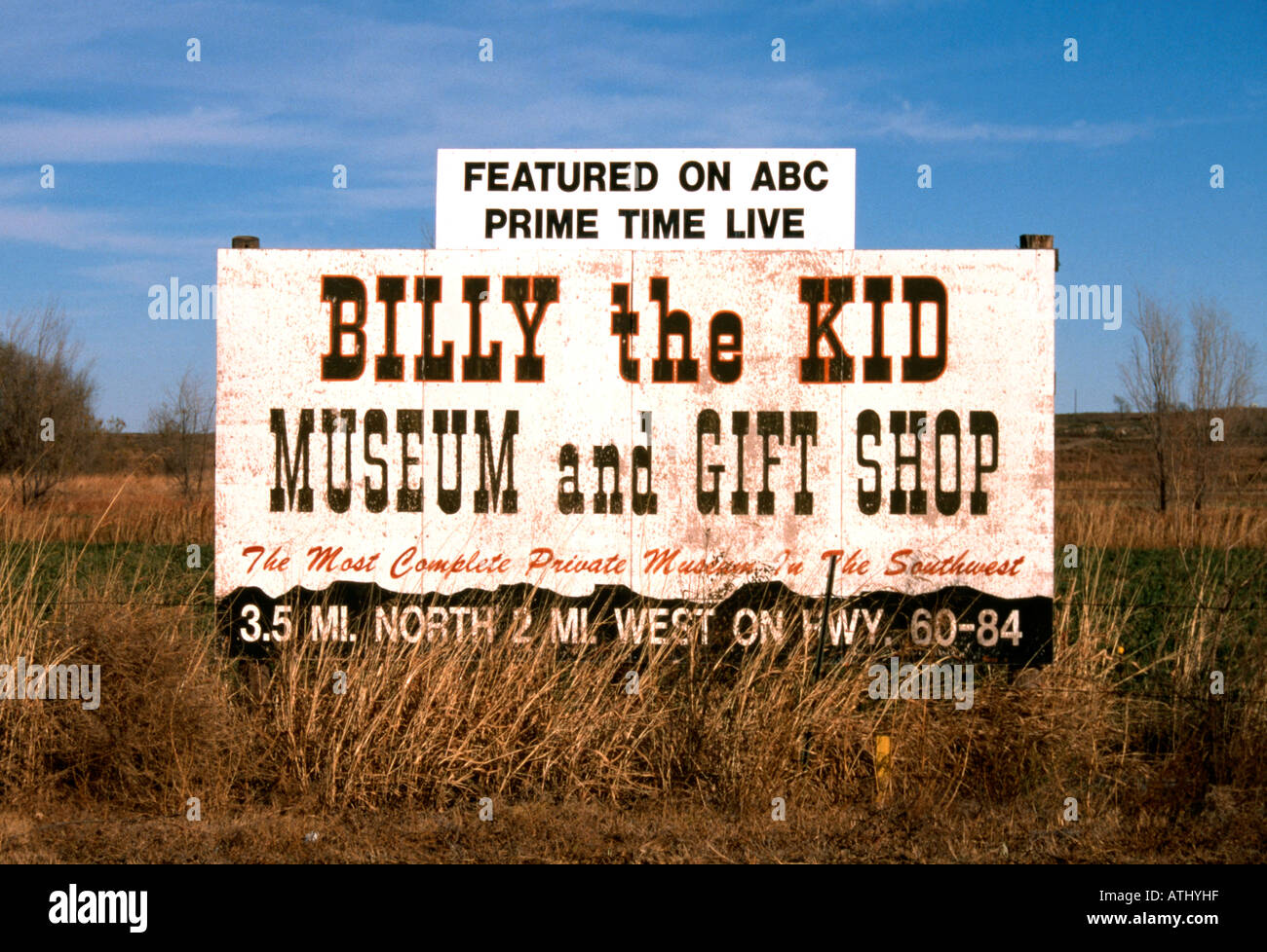 Billy The Kid Museum Sign In USA Stock Photo Royalty Free Image - Private museums in usa