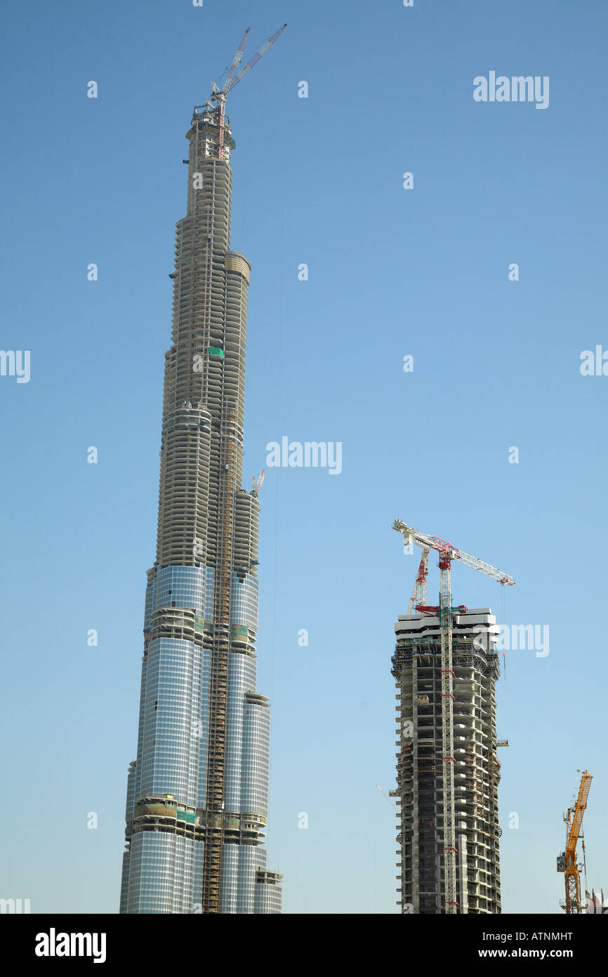 burj dubai the worlds tallest building under
