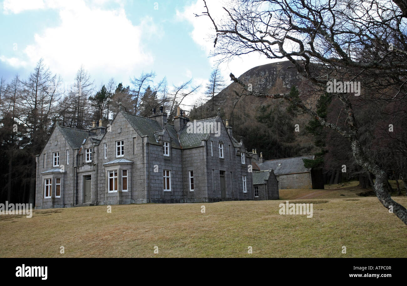queen victorias royal lodge of glas allt shiel on the