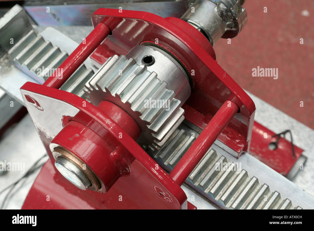 ... - Rack and pinion gears convert rotational motion into linear motion