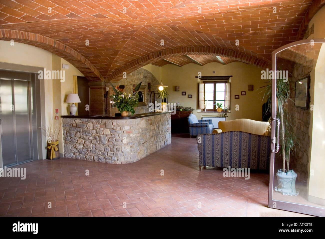 Hotel Le Pozze Di Lecchi Reception Desk Pozze Di Lecchi Hotel And Farm Holidays Lecchi