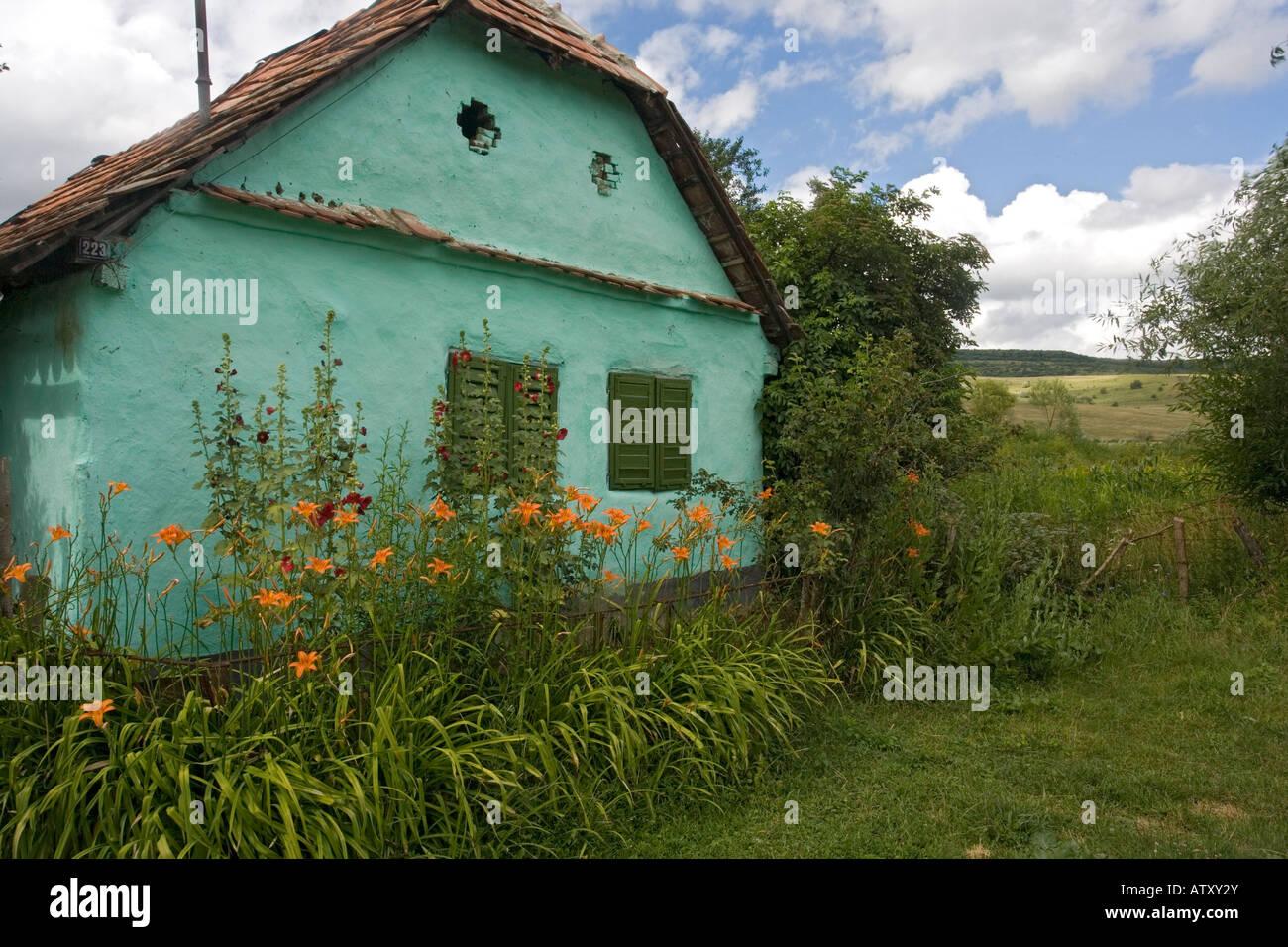 Old house in saxon village of viscri romania stock photo royalty free image 16410386 alamy - Saxon style houses in transylvania ...