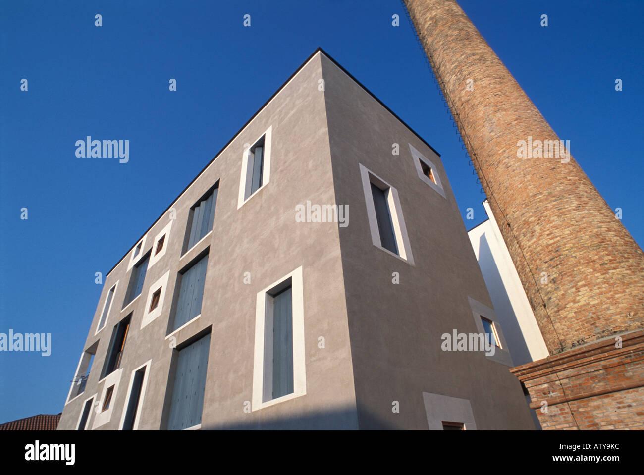 Modern Architecture Giudecca Island Venice Veneto Italy