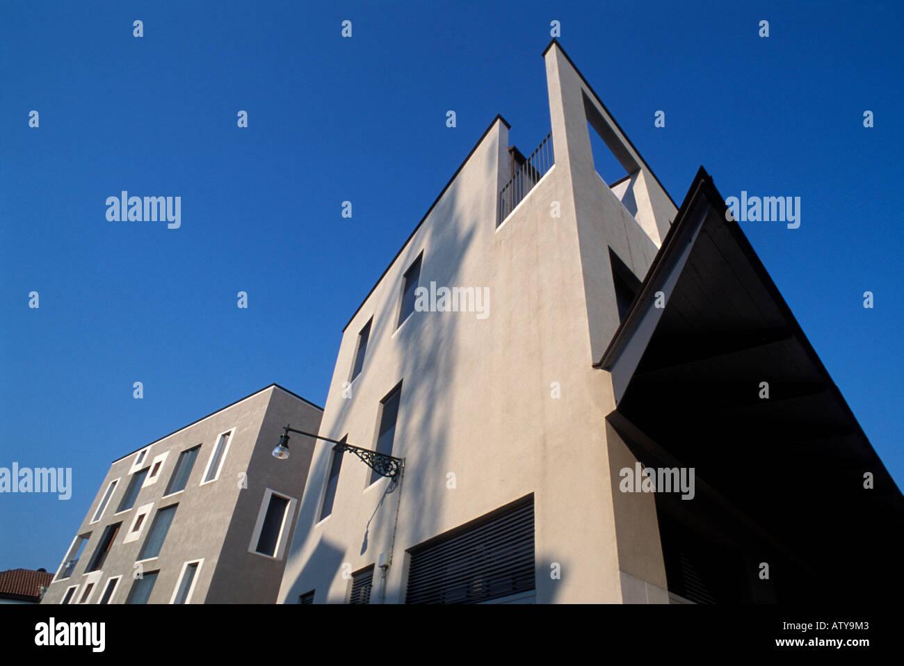 Modern Architecture In Italy modern architecture giudecca island venice veneto italy stock