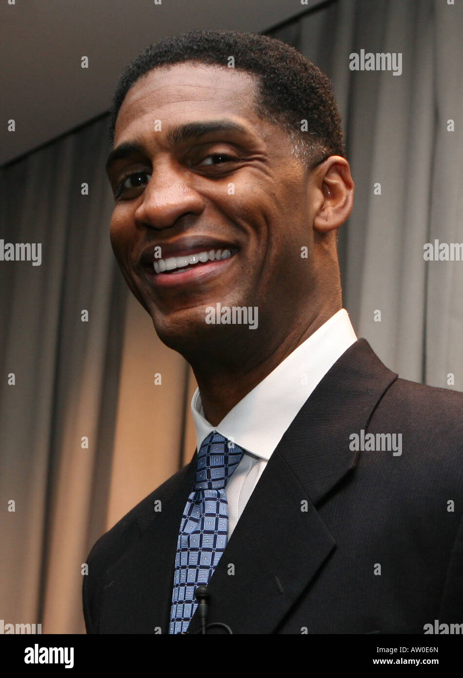 Charles Smith retired New York Knicks forward Stock