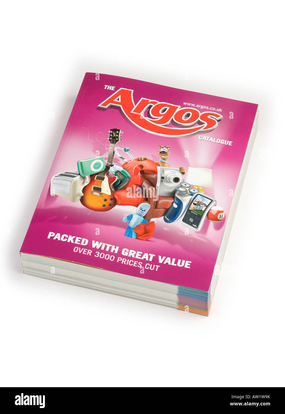argos catalogue 2008 stock photo royalty free image. Black Bedroom Furniture Sets. Home Design Ideas