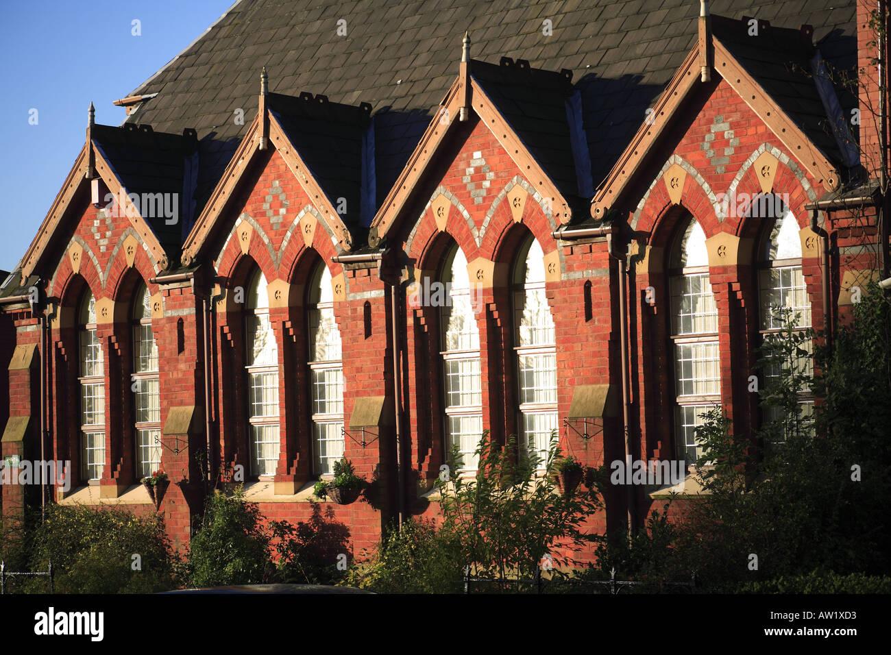 Venetian Gothic classic victorian venetian gothic former school house england uk