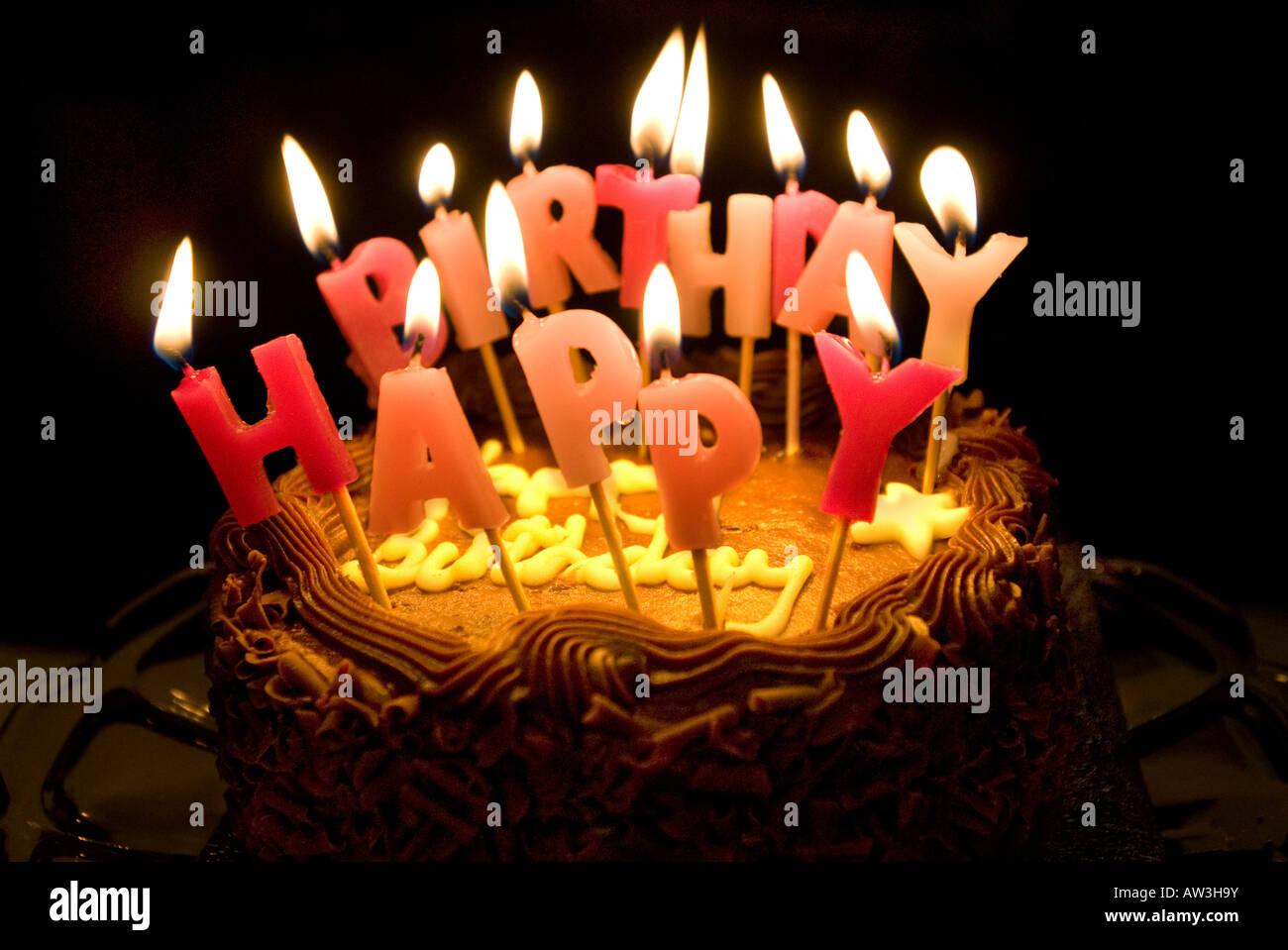 Godiva Birthday Cake