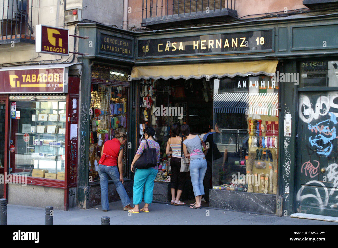 Famous casa hernanz in madrid near the plaza mayor stock - Casa hernanz madrid ...