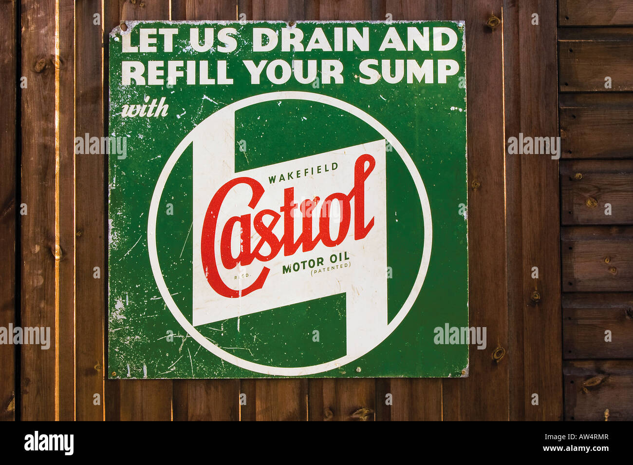 castrol motor oil sign logo stock photo royalty free