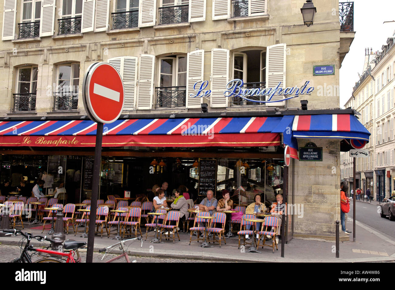 Cafe Le Bonaparte St Germain Des Pres Rue Guillaume
