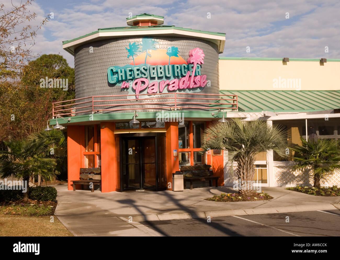 Cheeseburger In Paradise Restaurant Myrtle Beach Sc