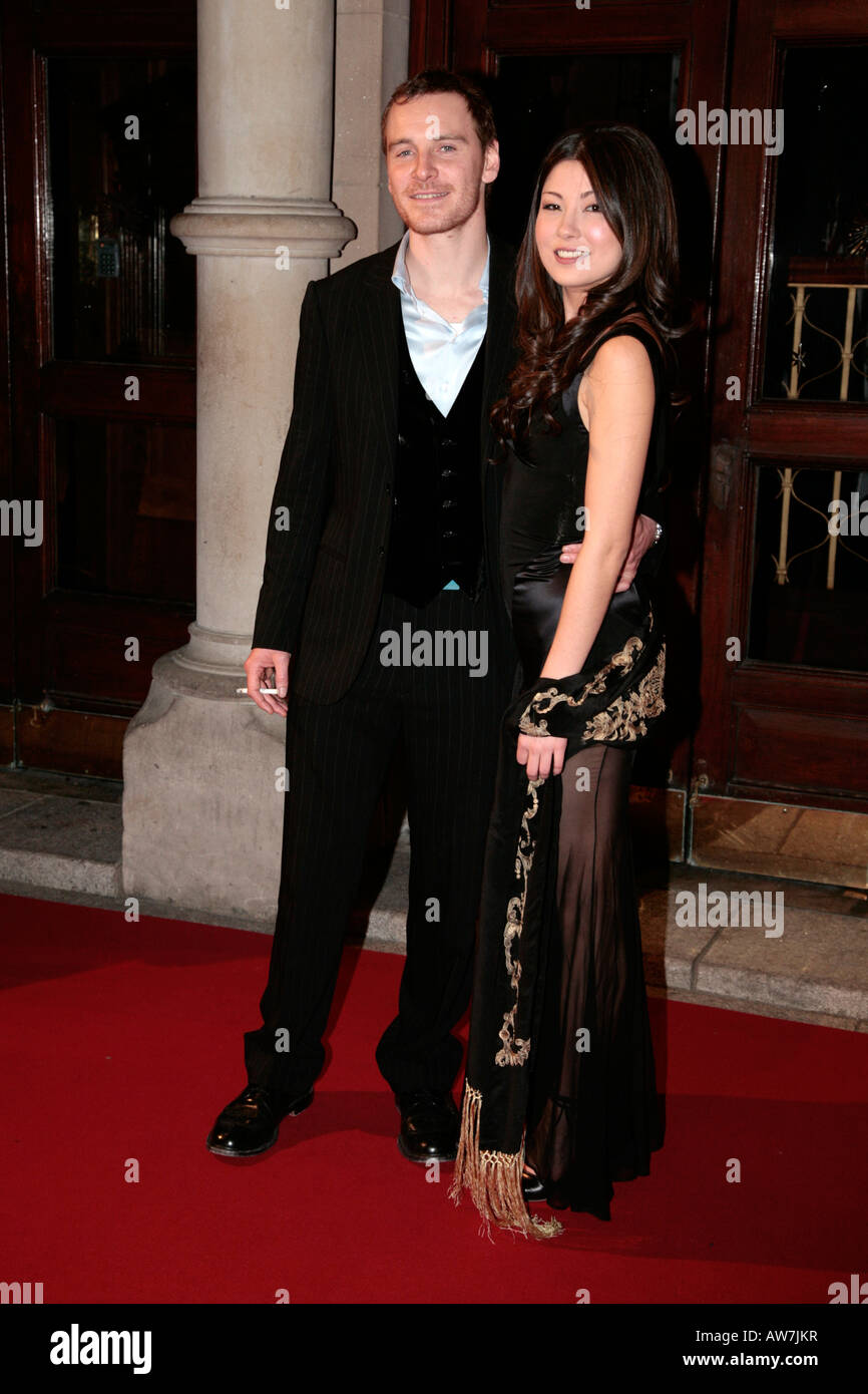 Michael Fassbender And Maiko Spencer On The Red Carpet At ... Michael Fassbender Girlfriend