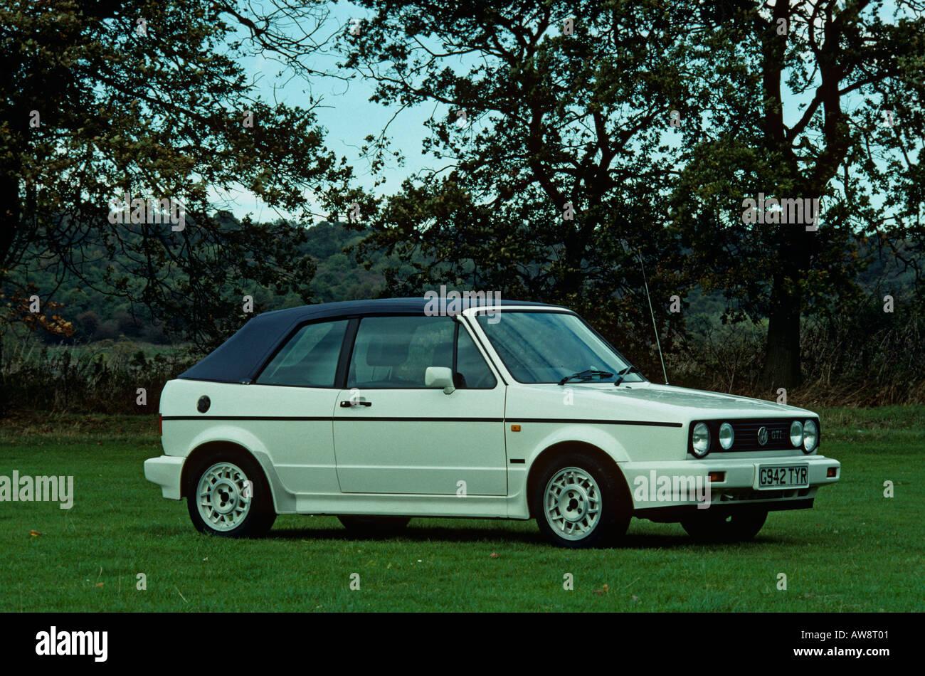 volkswagen golf mk1 gti cabriolet mk1 cabriolet 1980 to 1992 stock photo royalty free image. Black Bedroom Furniture Sets. Home Design Ideas