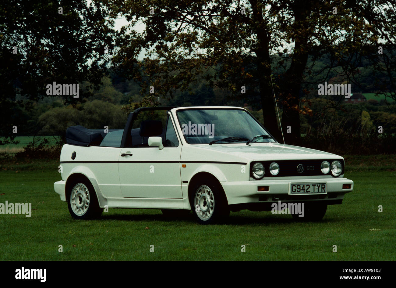 volkswagen golf mk1 gti cabriolet mk1 cabriolet 1980 to 1992 stock photo royalty free image. Black Bedroom Furniture Sets. Home Design Ideas