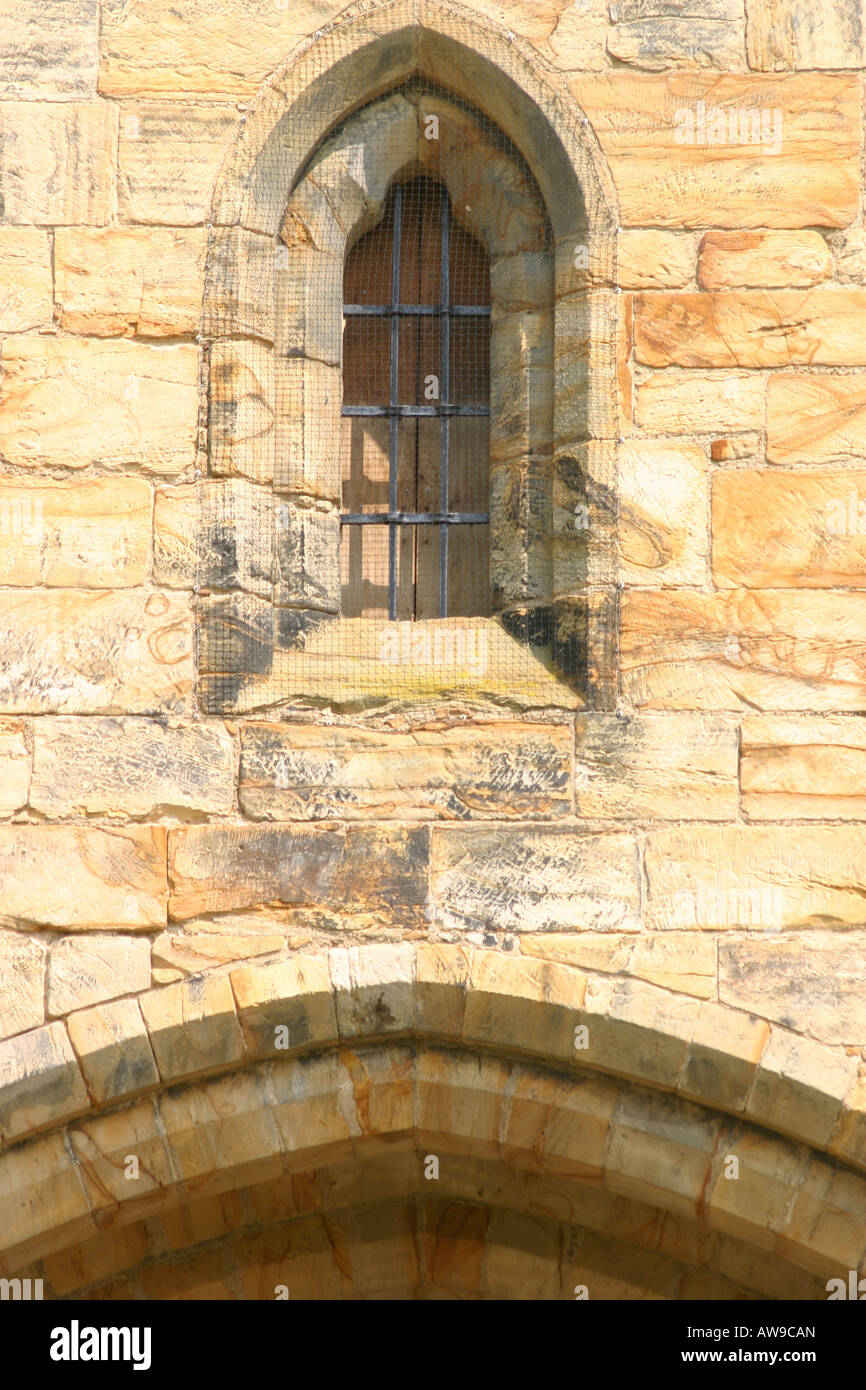 Wall With Arch Window