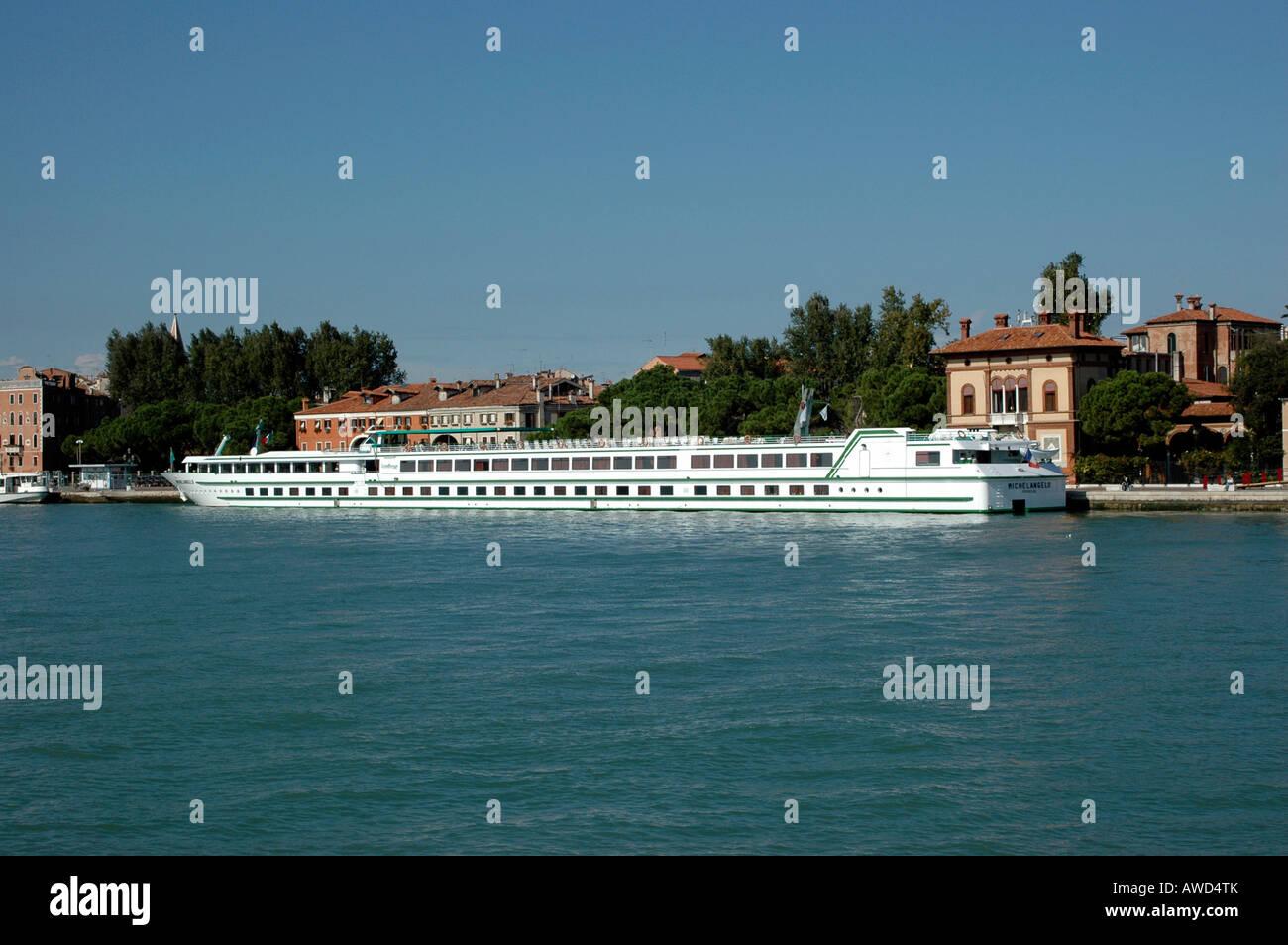 Michelangelo Cruise Ship Venice Veneto Italy Europe Stock - Ms michelangelo cruise ship
