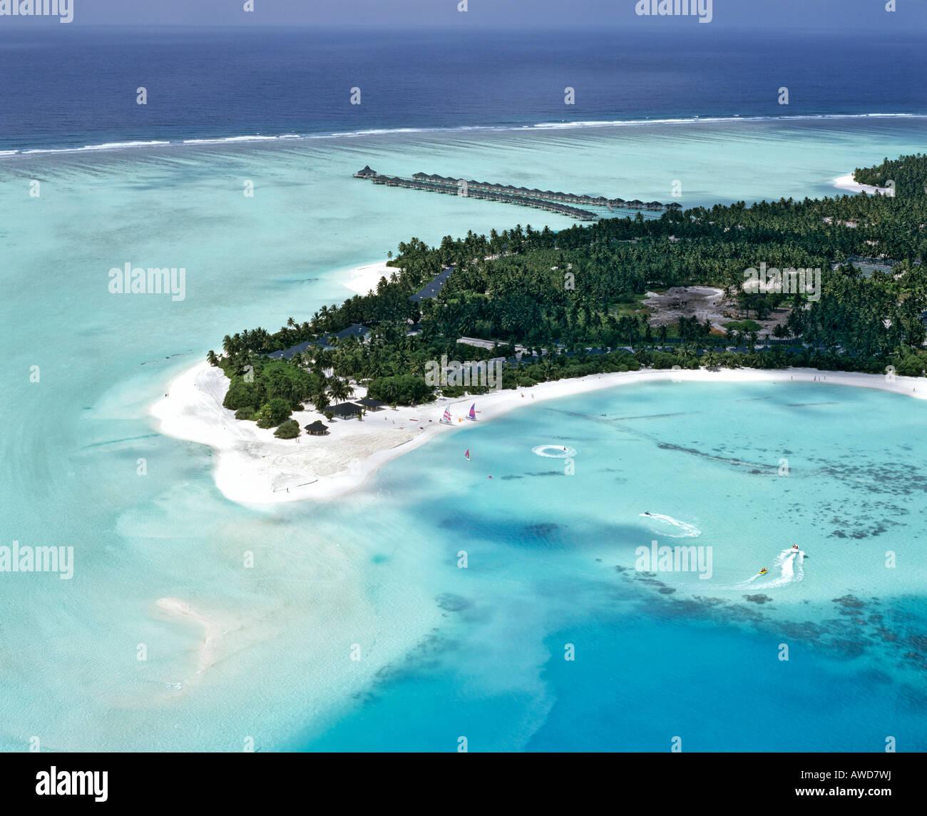 Sun Island Beach Maldives: Sun Island, Nalaguraidhoo, Aerial Photograph, Ari Atoll