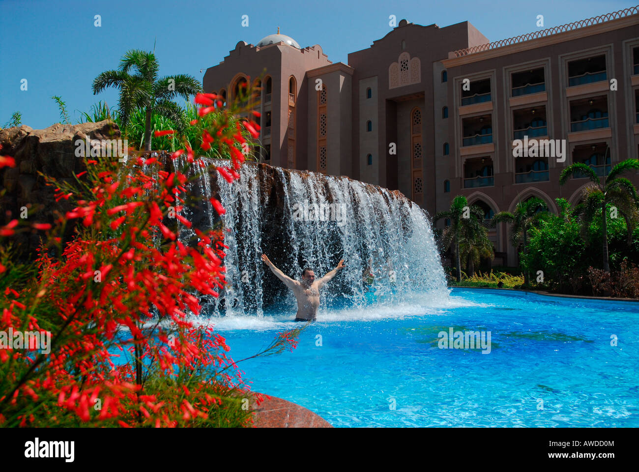 Swimming Pool Emirates Palace Hotel Abu Dhabi United Arab Stock Photo Royalty Free Image