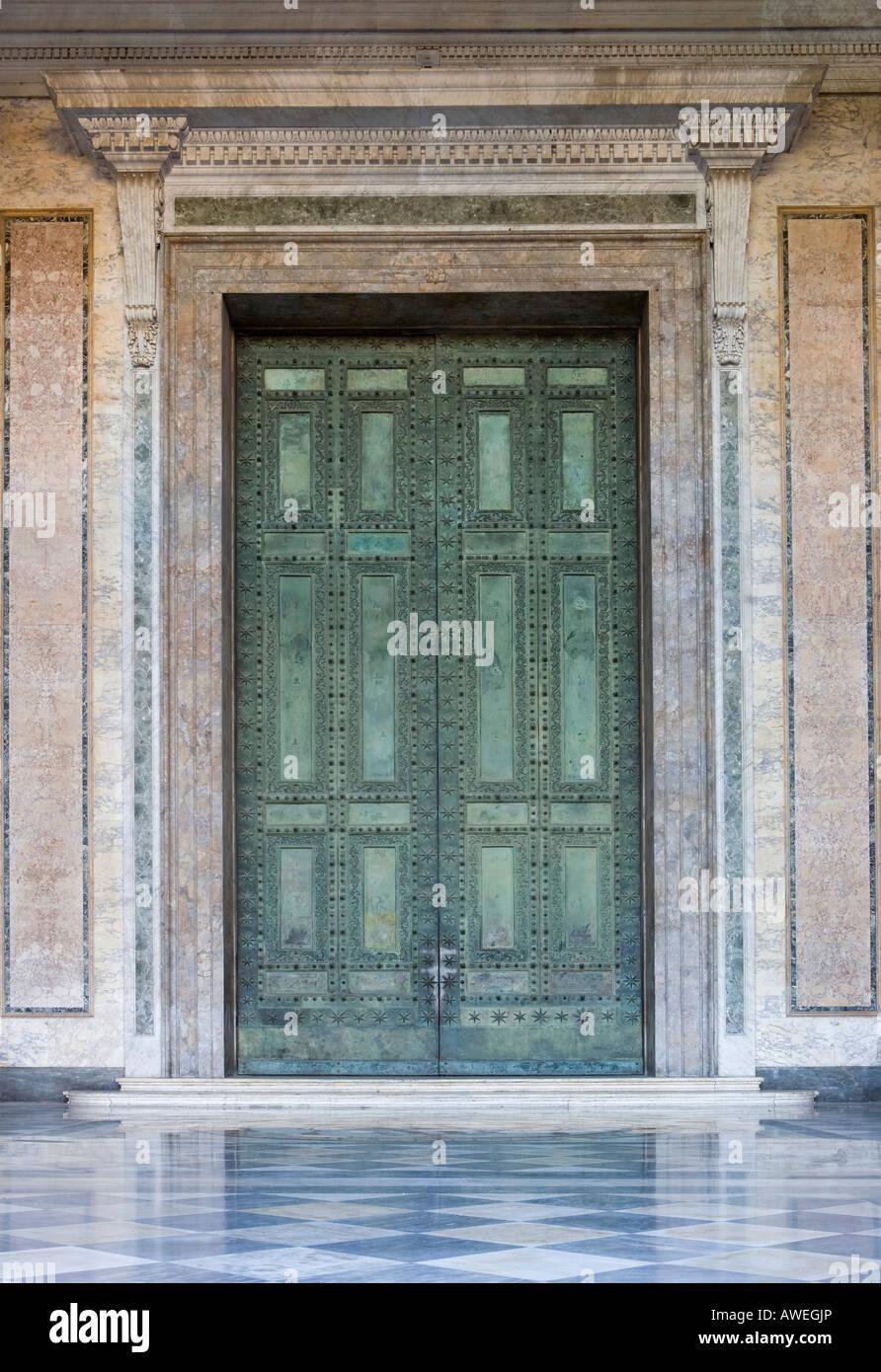 Bronze Doors Leading To The Ancient Curia At Basilica Of St John Lateran Rome Italy Europe & John Doors u0026 pezcame.com