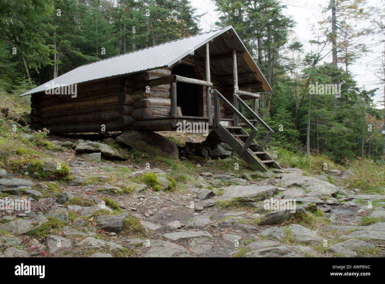 White mountain national forest of new hampshire usa cabin for New hampshire log cabins