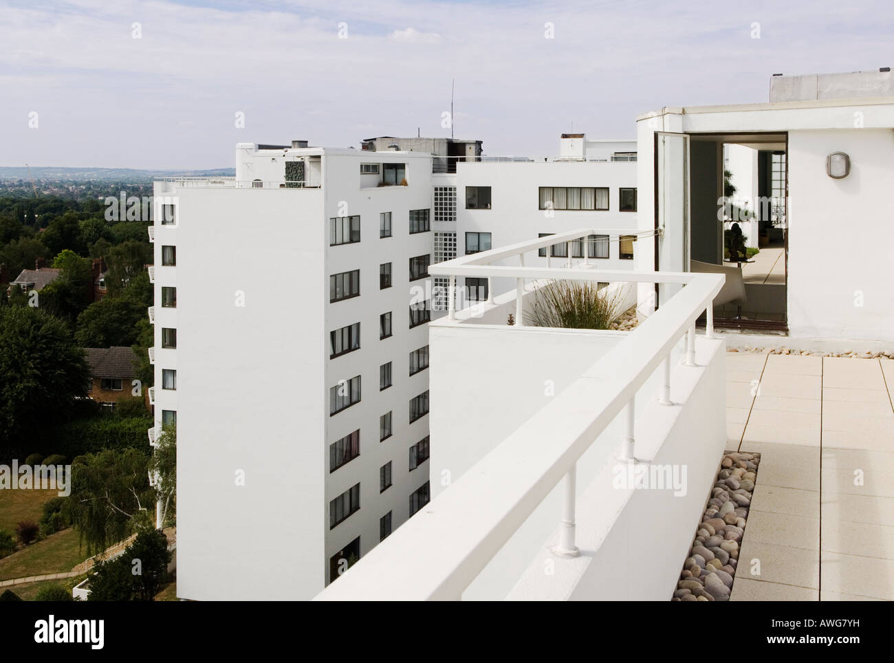 Apartment Building Roof roof terrace of 1930s modernist apartment buildingberthold
