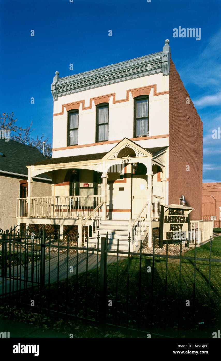 USA Colorado Denver Black American West Museum And Heritage - Black museums in usa