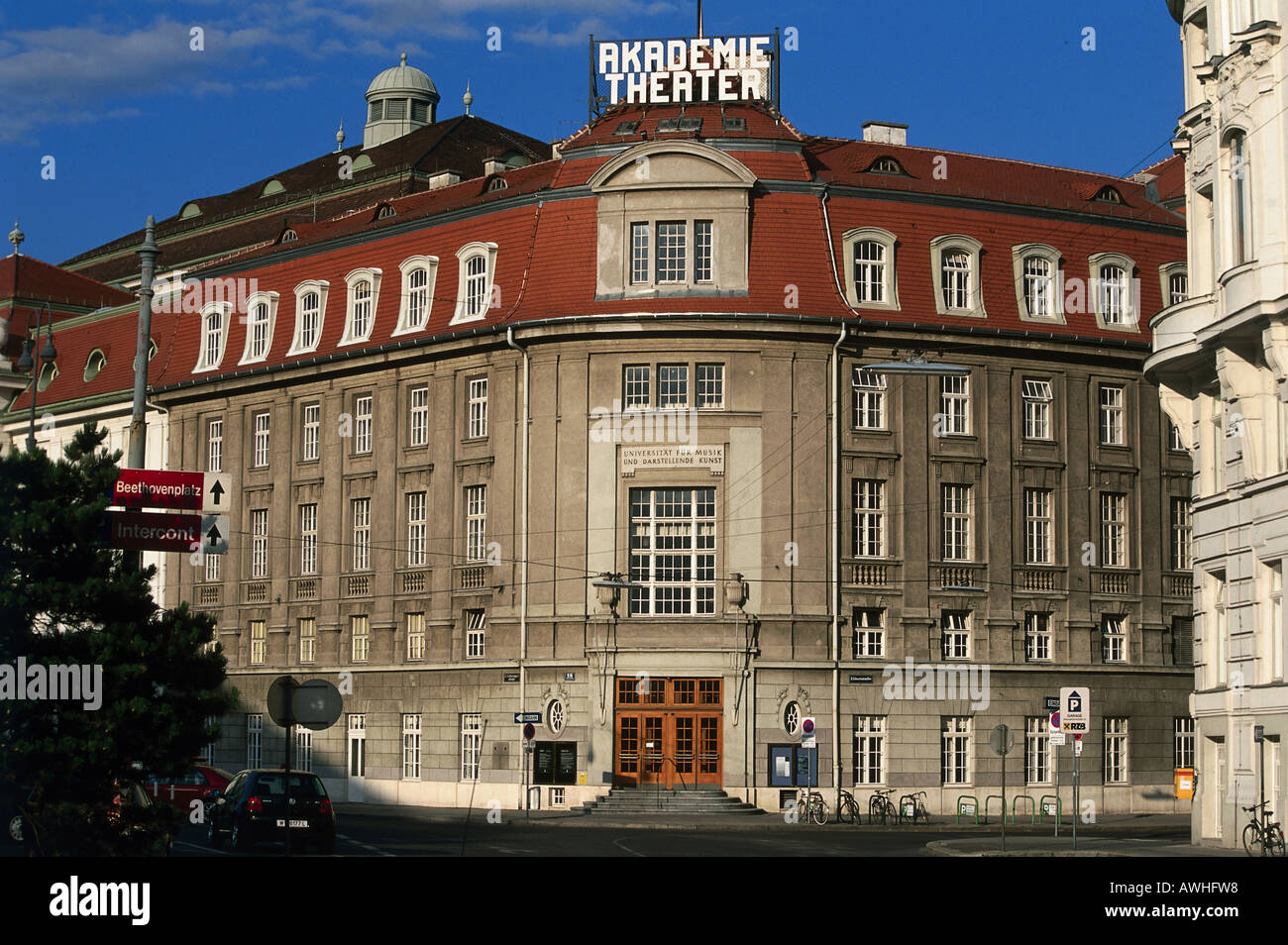 Austria  Vienna  Akademietheater  fa ade of Academy Theater  plans by Ludwig Baumann  Ferdinand Fellner and Hermann Helmer. Austria  Vienna  Akademietheater  Fa ade Of Academy Theater  Plans