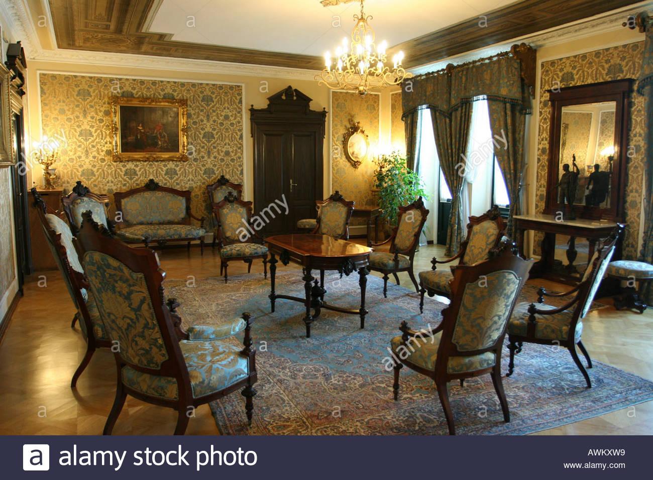 Antike Einrichtung antiquity furniture - Antike Einrichtung Antiquity Furniture Stock Photo, Royalty Free