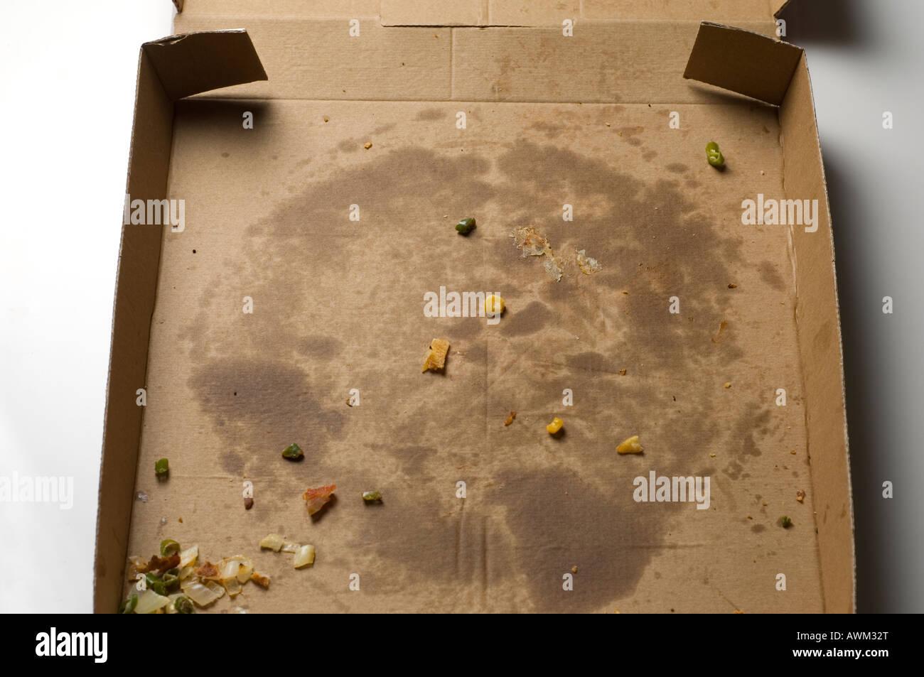 Empty Pizza Box Stock Photo, Royalty Free Image: 16609295 - Alamy