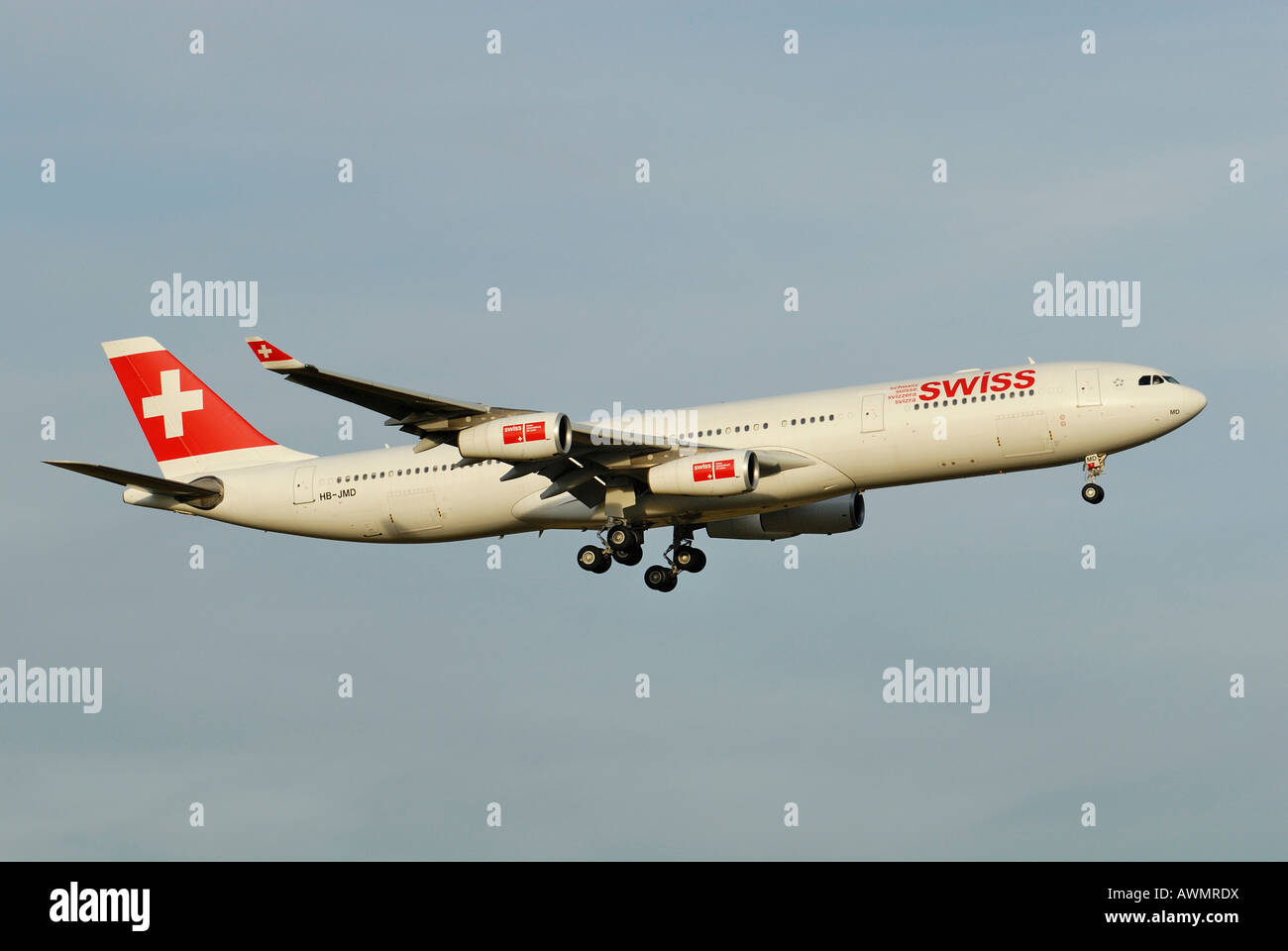 Airbus a340 313 swiss international air lines aviation photo - Airbus A340 313 From The Swiss International Air Lines Ag