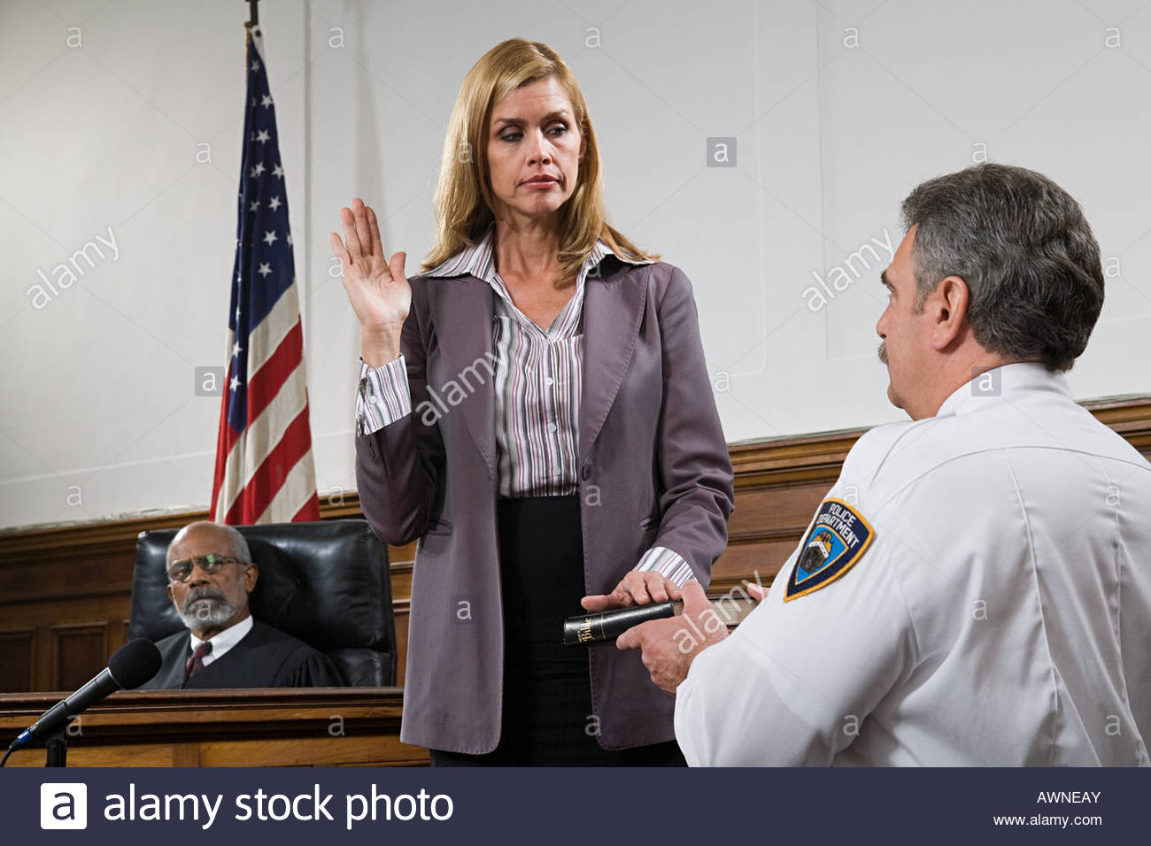 Oath for a juror or for a witness in a trial - Support Login