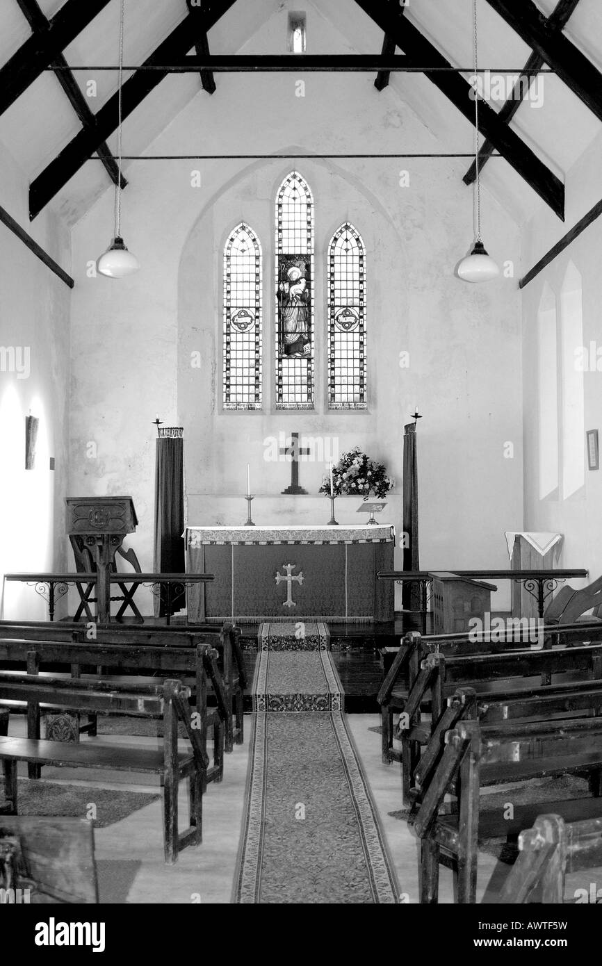Simple Church Interior