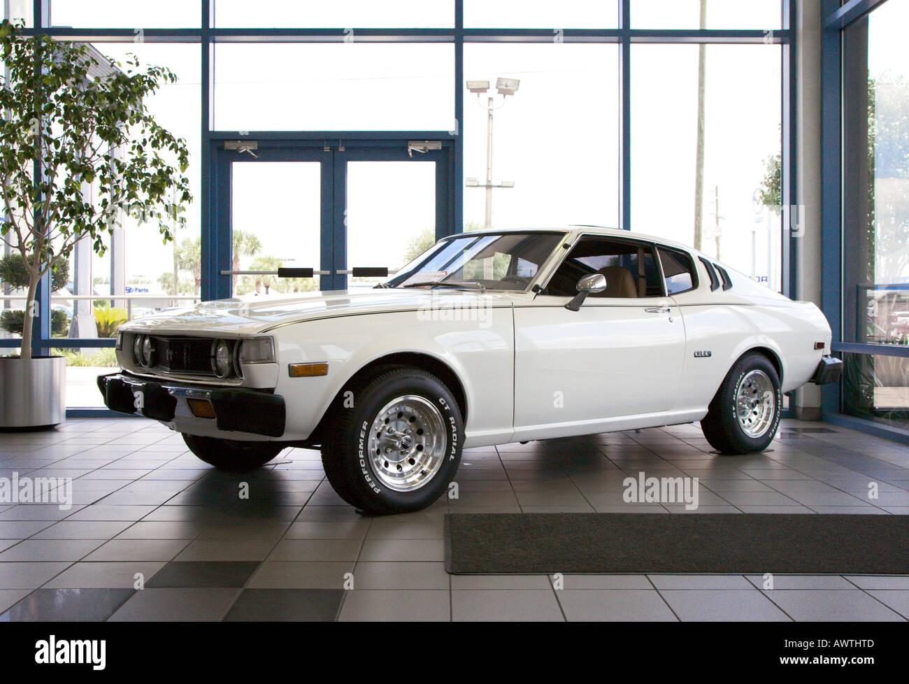 1976 Toyota Celica Liftback Coupe Display In Dealership