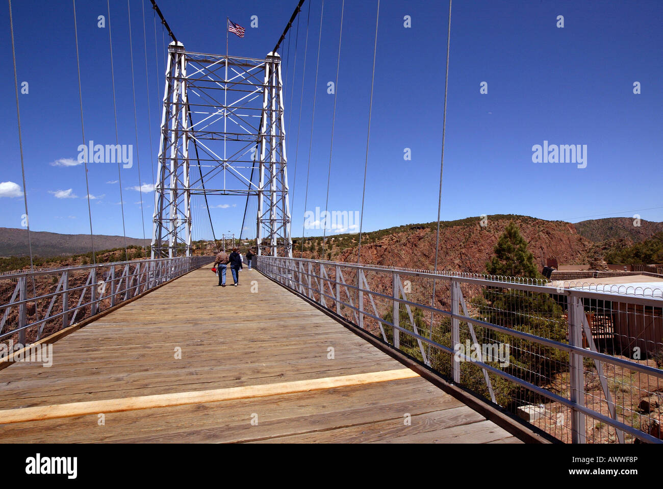 Bundle Of Steel Cables Support World S Highest Suspension Bridge - Highest river in the world