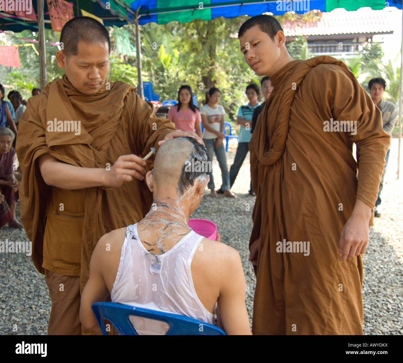 Buddhism shaved head