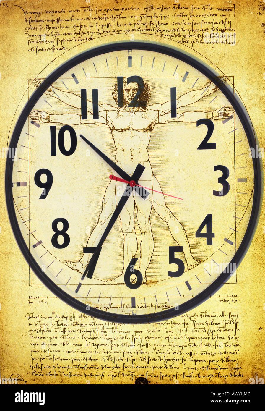 Resultado de imagen para da vinci clock