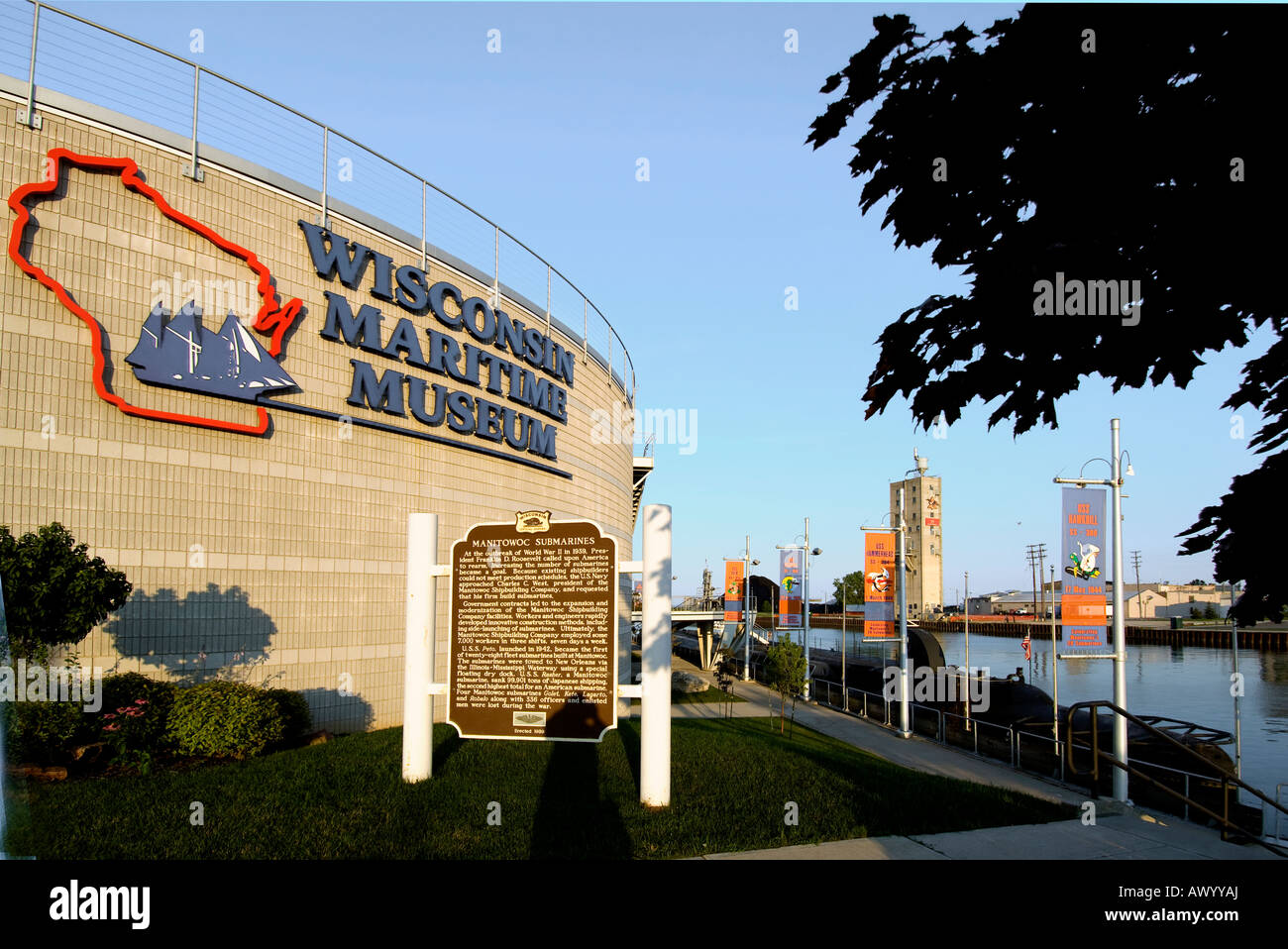 The Wisconsin Maritime Museum In Manitowoc Wi Where The U S S ...