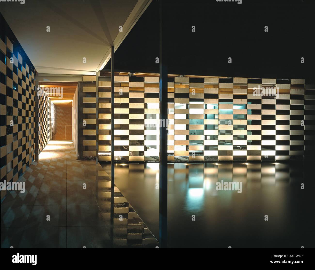LOTUS HOUSE, KENGO KUMA & ASSOCIATES, , JAPAN Stock Photo